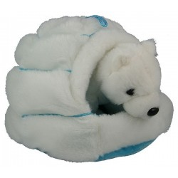 Polar Bear in Igloo