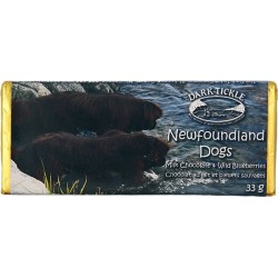 Newfoundland Dogs Chocolate Bar
