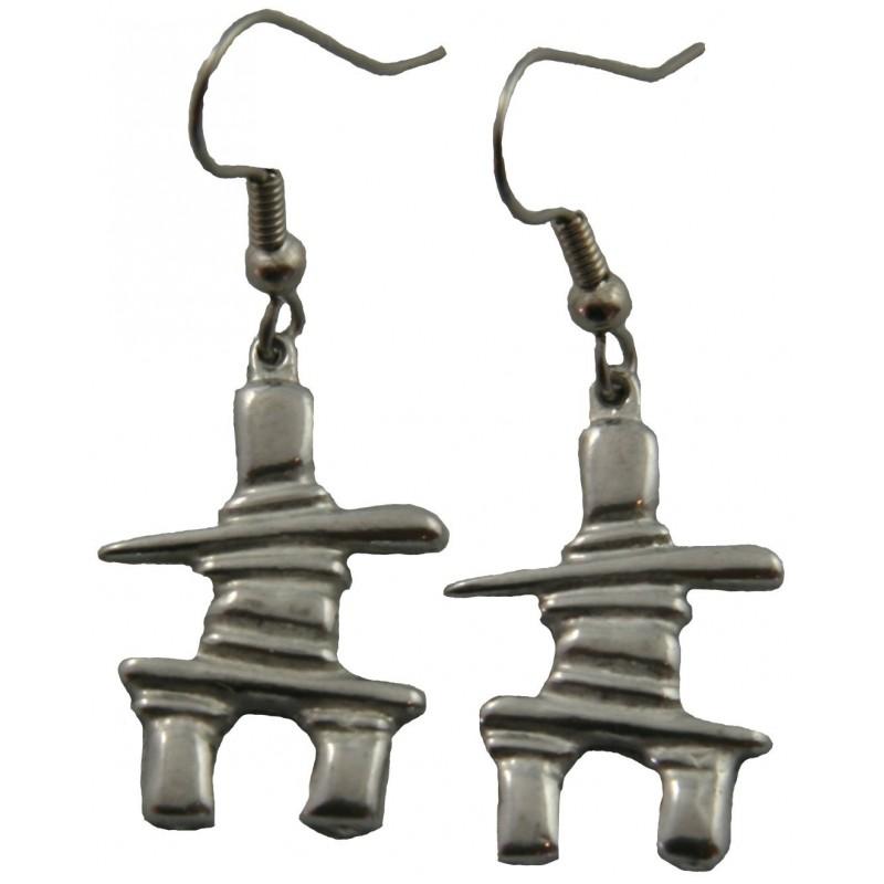 Inukshuk Earrings