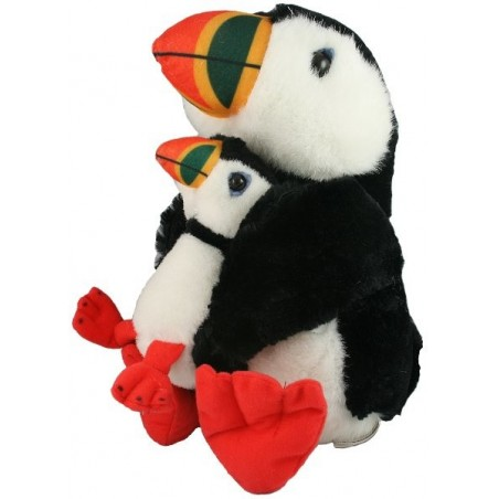 Puffin & Baby Stuffed Toy