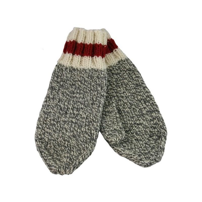 Wool Work Mittens