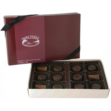 Dark Tickle Assorted Chocolates 12pc (102g)