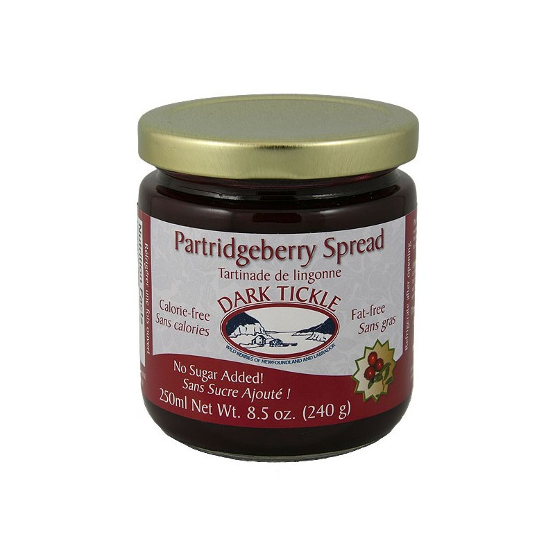 No Sugar Added Partridgeberry Spread 250ml (10.3oz)