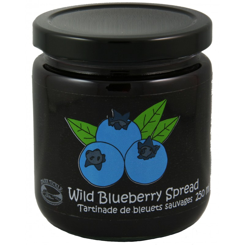 Old Fashioned Wild Blueberry Spread 250ml