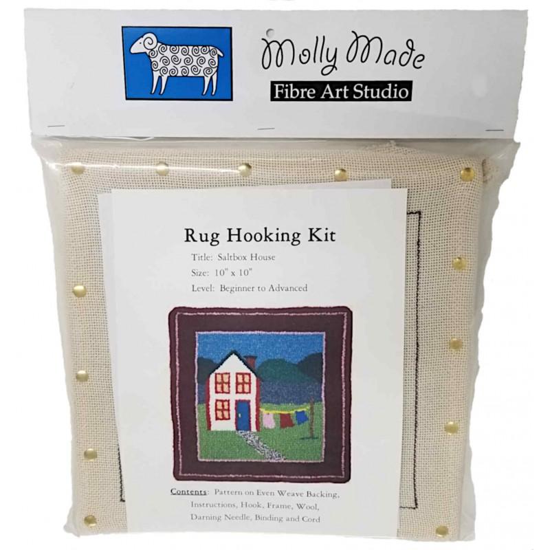 Saltbox House Rug Hooking Pattern