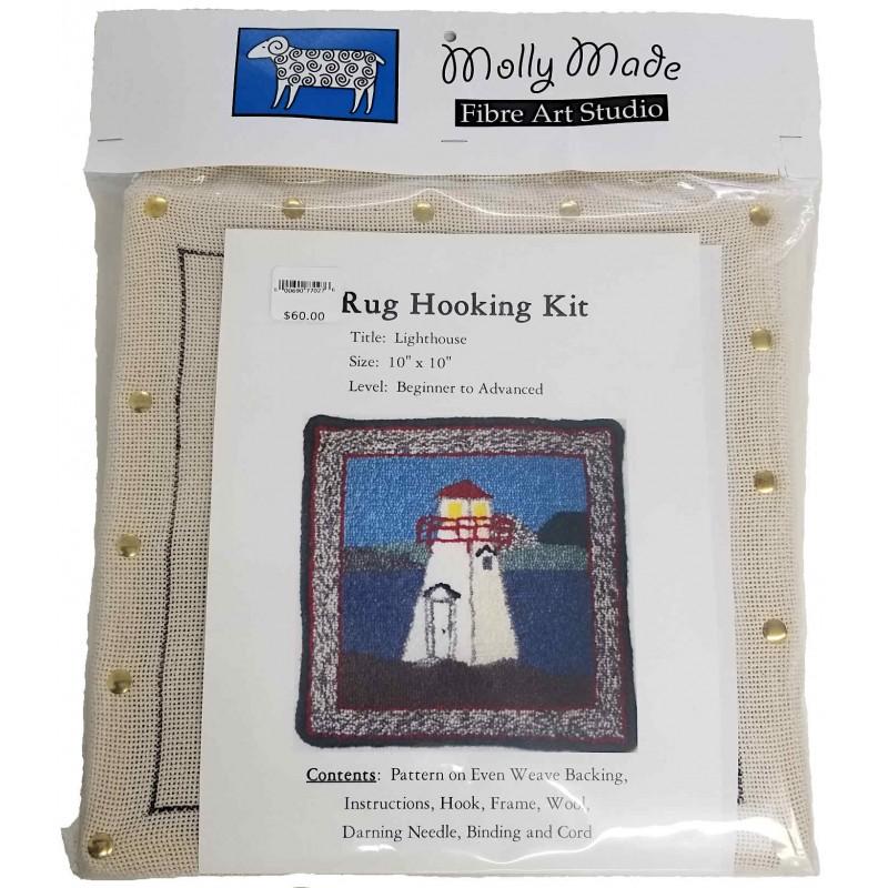 Lighthouse Rug Hooking Kit
