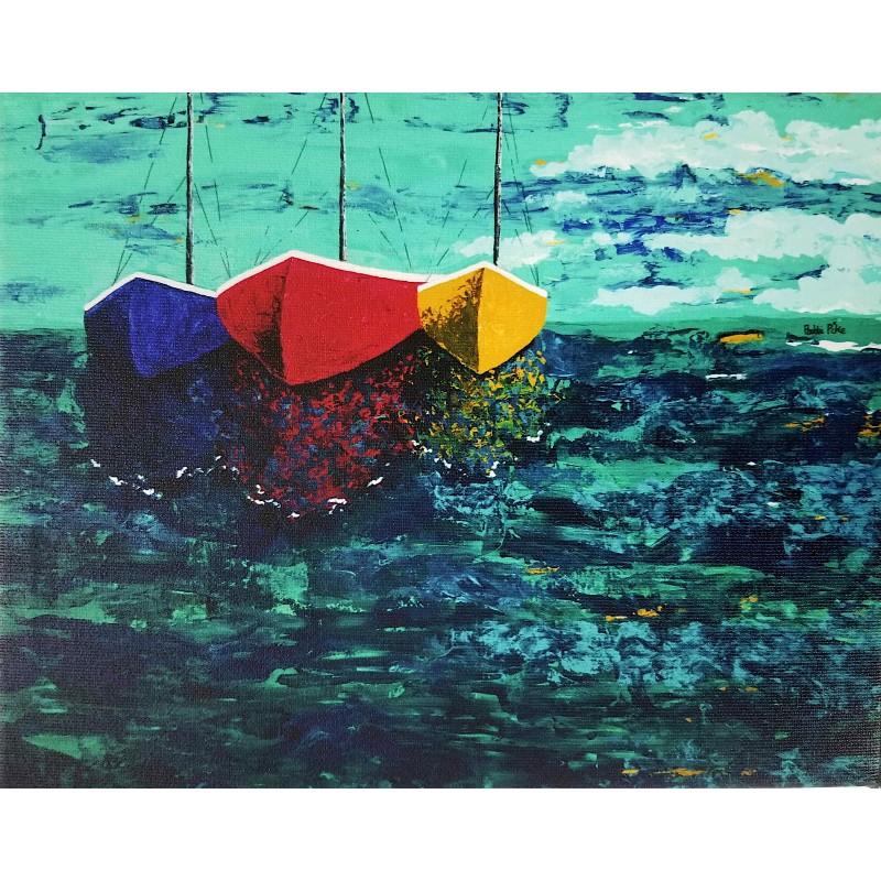 Rendezvous Sea Canvas Print
