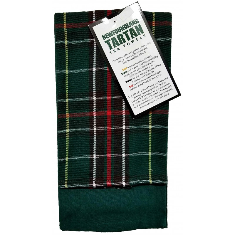 Newfoundland Tartan Tea Towel