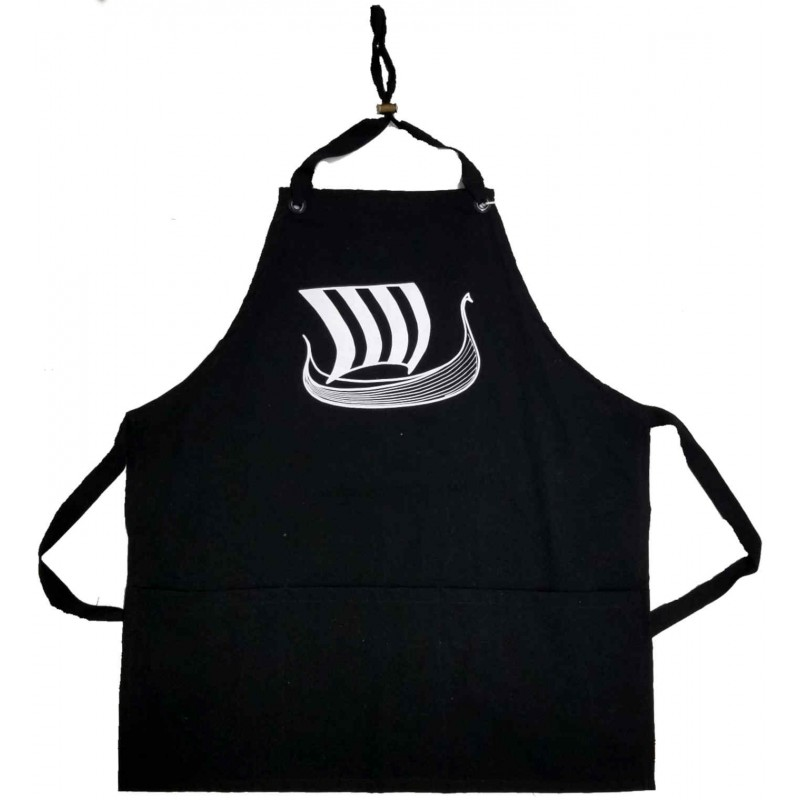 Viking Ship Apron