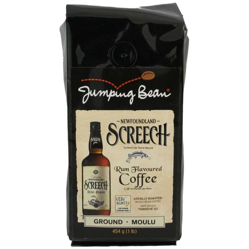 Jumping Bean Screech Flavoured Coffee 454g.