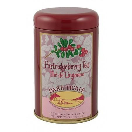 Partridgeberry Tea 10 Teabag Tin 20g (0.70oz)