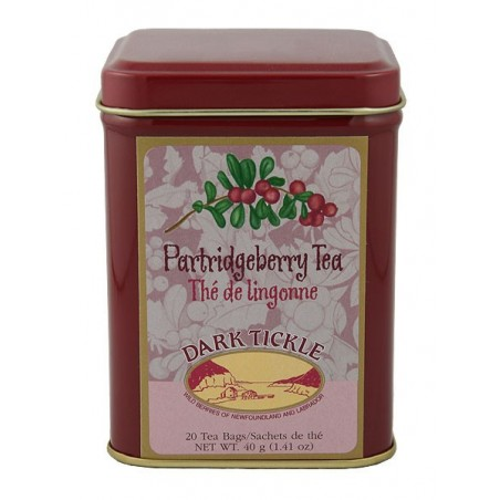 Partridgeberry Tea 20 Teabag Tin 40g (1.41oz)