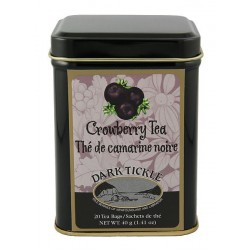Crowberry Tea 20 Teabag Tin 40g (1.41oz)