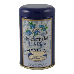 Wild Blueberry Tea 10 Teabag Tin 20g (0.70oz)