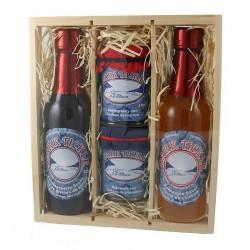 Jam/Sauce Gift Box (2x57ml Jam & 2x135ml Sauce)