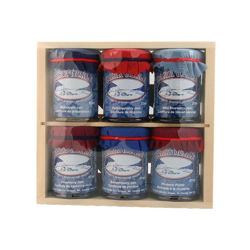 Jam Gift Box (6x57ml: 5 Jam, 1 Chutney)