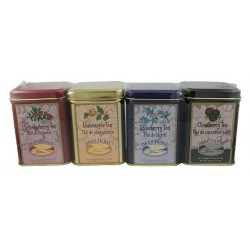 Tea Gift Pack (4 x 20 Teabag Tin)