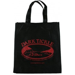 Dark Tickle Fabric Shopper