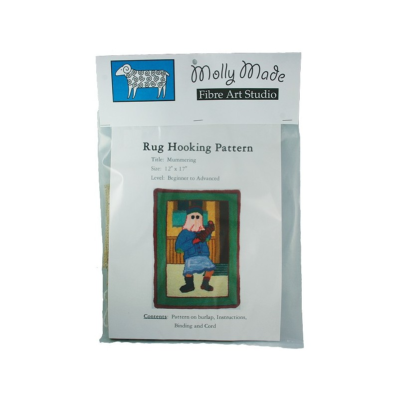 Mummering Rug Hooking Pattern