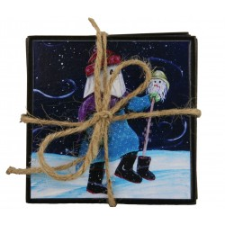 Mummer Coaster Set