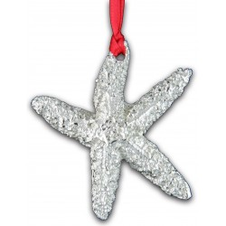 Pewter Starfish Christmas...