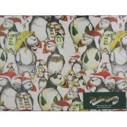 Puffin Christmas Paper