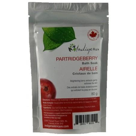 Partridgeberry Bath Soak 80g