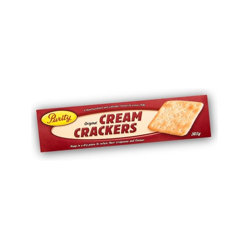 Purity Cream Crackers