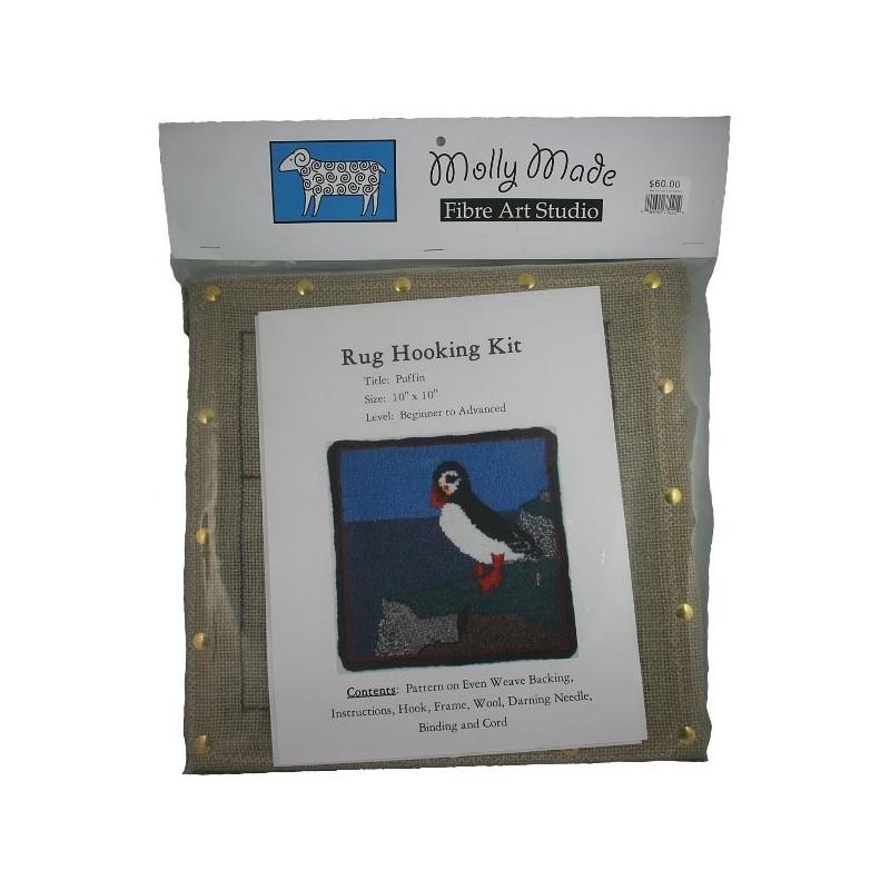 Puffin Rug Hooking Kit