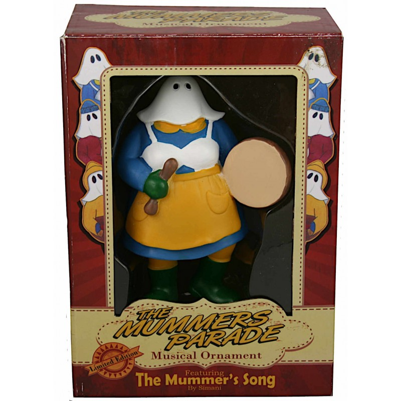The Mummer's Parade Musical Ornament
