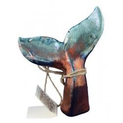 Raku Whale's Tail