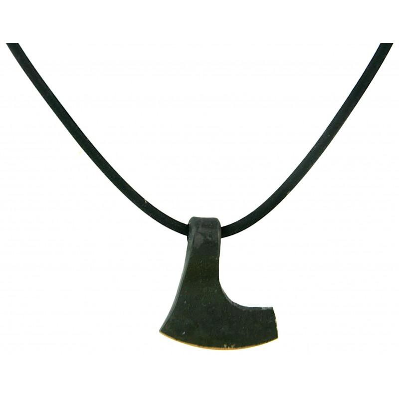 Bearded Axe Iron Pendant