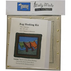 Clothes Line Rug Hooking Kit