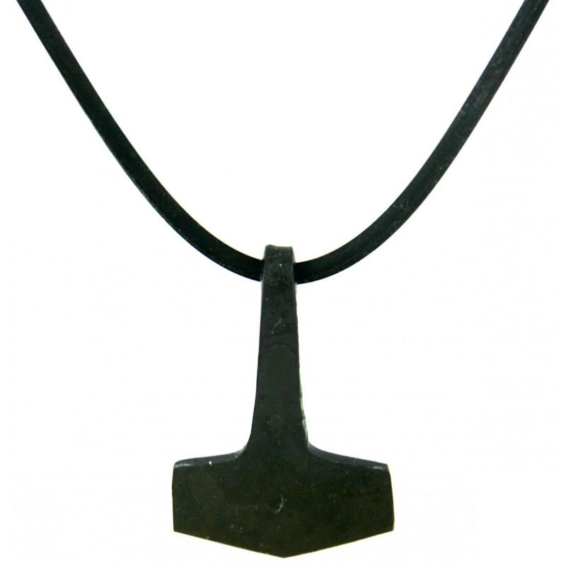 Thor's Hammer Iron Pendant