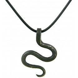 Serpent Iron Pendant