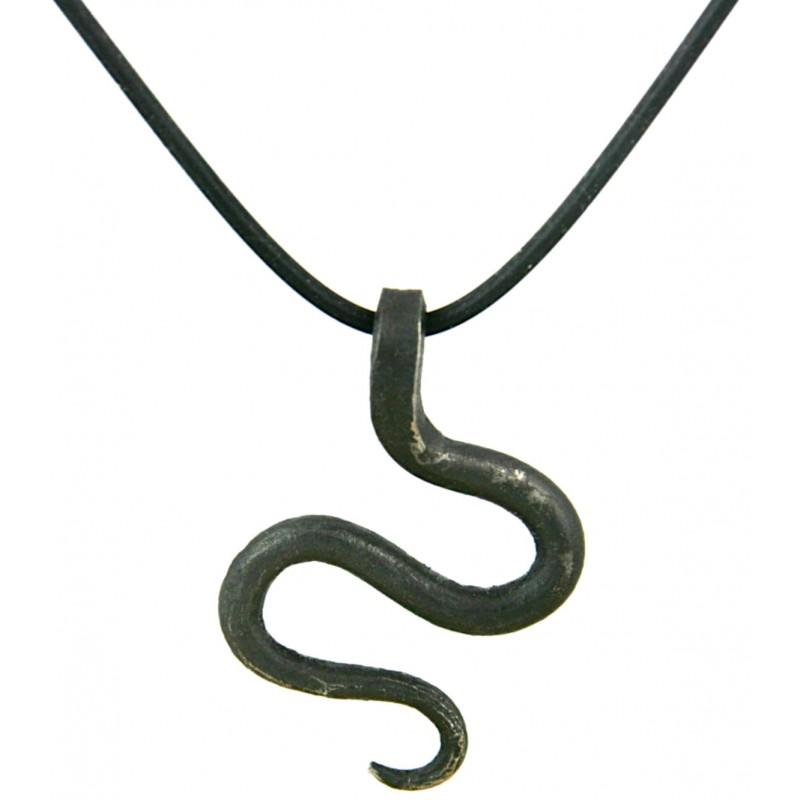 Serpent Iron Pendant