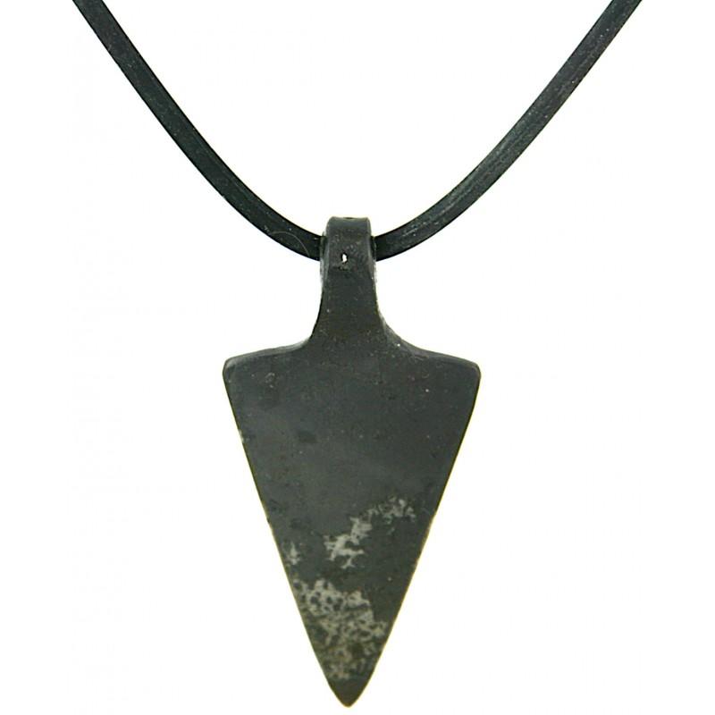 Spearhead Iron Pendant