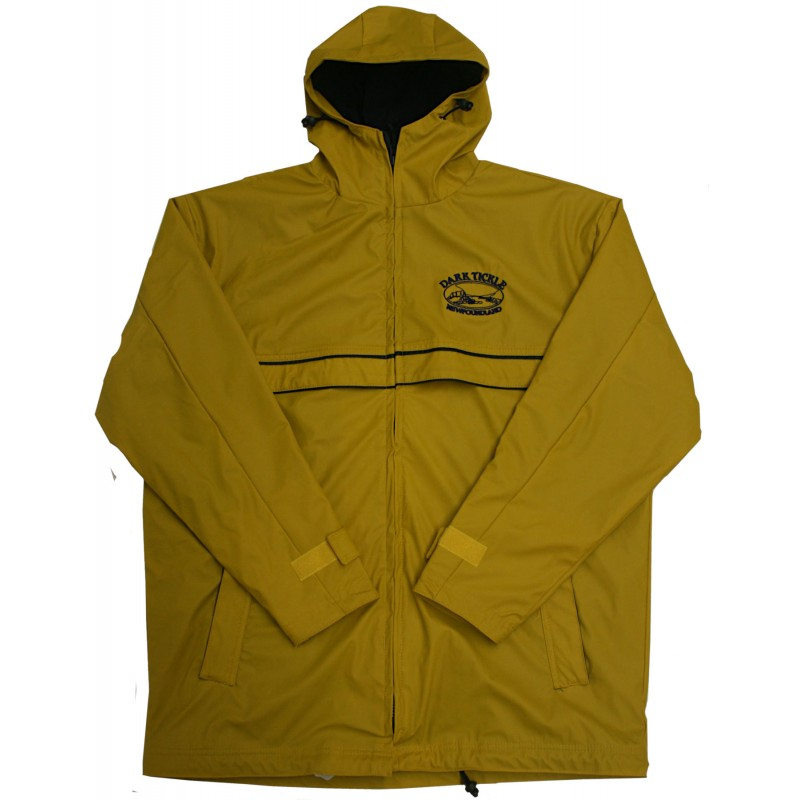 Dark Tickle Rain Jacket Yellow