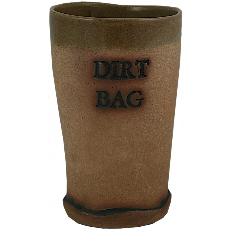 Dirt Bag Pint Glass