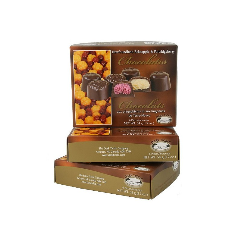 Bakeapple & Partridgeberry Chocolates 54g (1.9oz)
